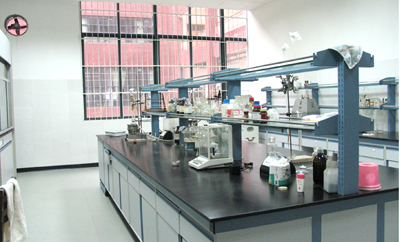 Clean chemical analysis room 2